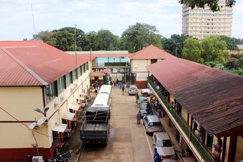 Entré à la direction générale des douanes guinéennes