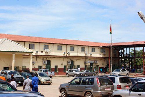 Enceinte de la direction générale des douanes guinéennes