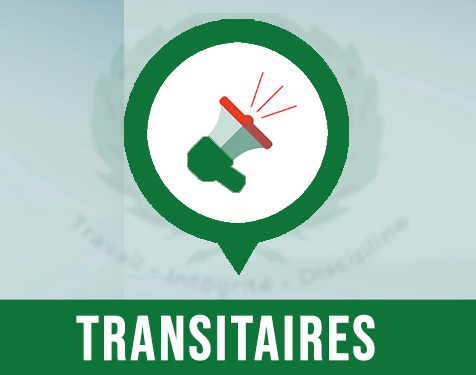AUX TRANSITAIRES